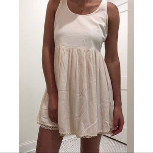 Altar'd State Cream High-Low Dress